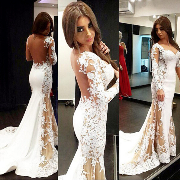 Woman Evening Dress, Lace Formal Dresses,Charming Evening Dress ...