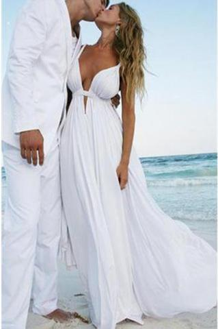 2019 Beach Wedding Dress On Luulla